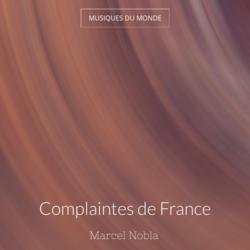 Complaintes de France