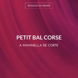 Petit bal Corse