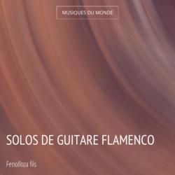 Solos de guitare flamenco