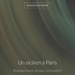 Un sicilien à Paris
