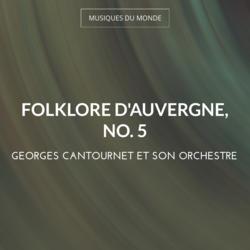 Folklore d'Auvergne, no. 5