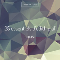 25 essentiels d'edith piaf