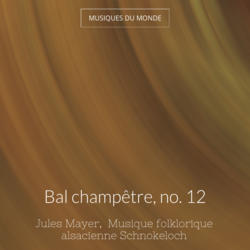 Bal champêtre, no. 12