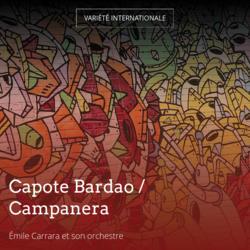 Capote Bardao / Campanera