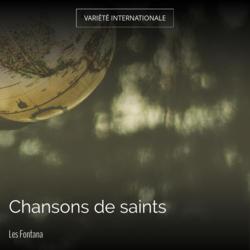 Chansons de saints