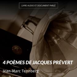4 Poèmes de Jacques Prévert
