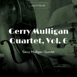 Gerry Mulligan Quartet, Vol. 6