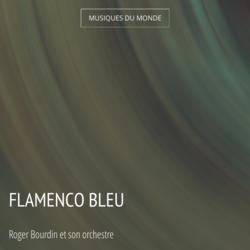 Flamenco bleu