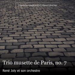 Trio musette de Paris, no. 7