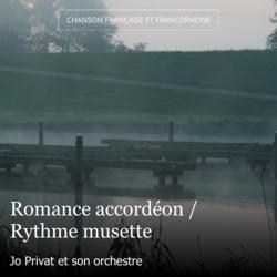Romance accordéon / Rythme musette