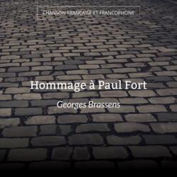 Hommage à Paul Fort