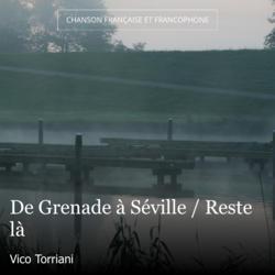 De Grenade à Séville / Reste là