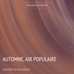 Automne, air populaire