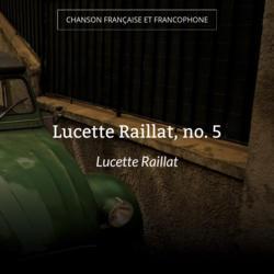 Lucette Raillat, no. 5