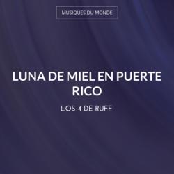 Luna de Miel en Puerte Rico