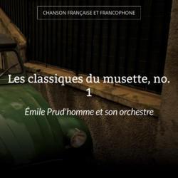 Les classiques du musette, no. 1