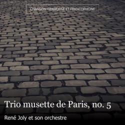Trio musette de Paris, no. 5