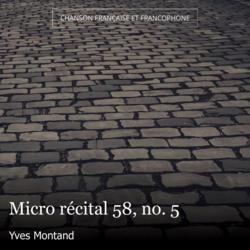 Micro récital 58, no. 5