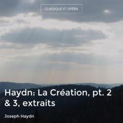 Haydn: La Création, pt. 2 & 3, extraits