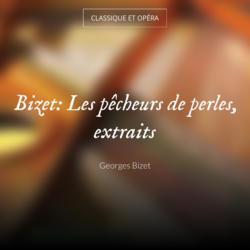 Bizet: Les pêcheurs de perles, extraits