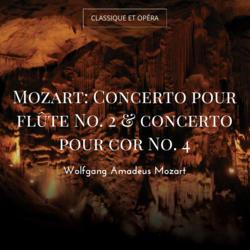 Mozart: Concerto pour flûte No. 2 & concerto pour cor No. 4
