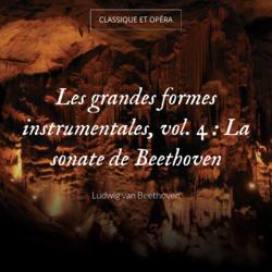 Les grandes formes instrumentales, vol. 4 : La sonate de Beethoven