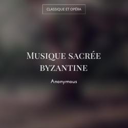 Musique sacrée byzantine