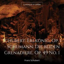 Schubert: Erlkönig, Op. 1 - Schumann: Die beiden Grenadiere, Op. 49 No. 1