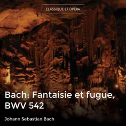 Bach: Fantaisie et fugue, BWV 542