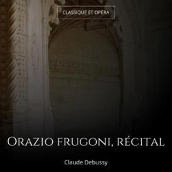 Orazio frugoni, récital