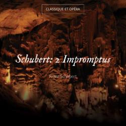 Schubert: 2 Impromptus