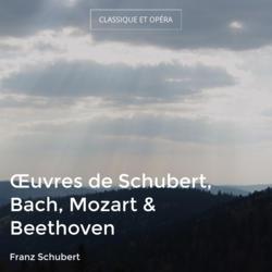 Œuvres de Schubert, Bach, Mozart & Beethoven