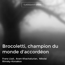 Brocoletti, champion du monde d'accordéon