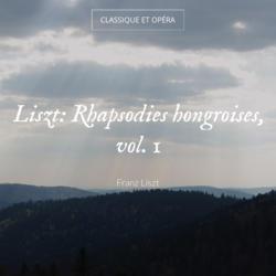 Liszt: Rhapsodies hongroises, vol. 1