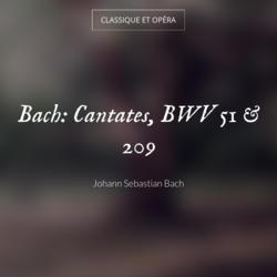 Bach: Cantates, BWV 51 & 209