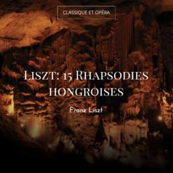 Liszt: 15 Rhapsodies hongroises