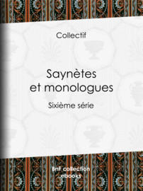 Saynètes et monologues
