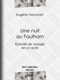 Une nuit au Faulhorn