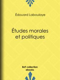Études morales et politiques