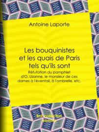 Les bouquinistes et les quais de Paris tels qu'ils sont
