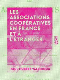 Les Associations coopératives en France et à l'étranger