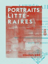 Portraits littéraires