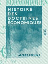 Histoire des doctrines économiques