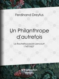 Un Philanthrope d'autrefois