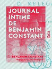 Journal intime de Benjamin Constant