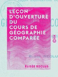 Leçon d'ouverture du cours de géographie comparée