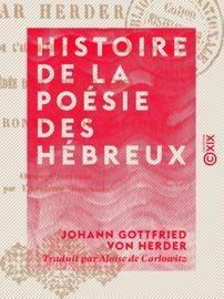 Histoire de la poésie des Hébreux