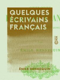 Quelques écrivains français