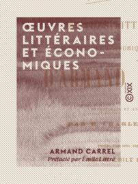 Œuvres littéraires et économiques