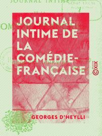 Journal intime de la Comédie-Française